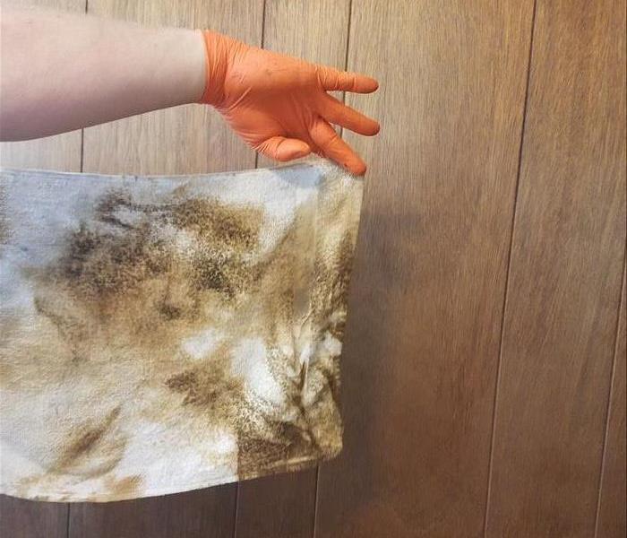 Soot Cleanup After Residential Fire After