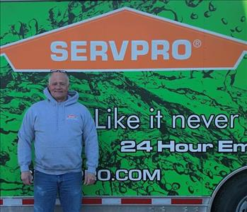 Photo of SERVPRO of Spencer & Iowa Great Lakes Reconstruction crew member Mike Menard