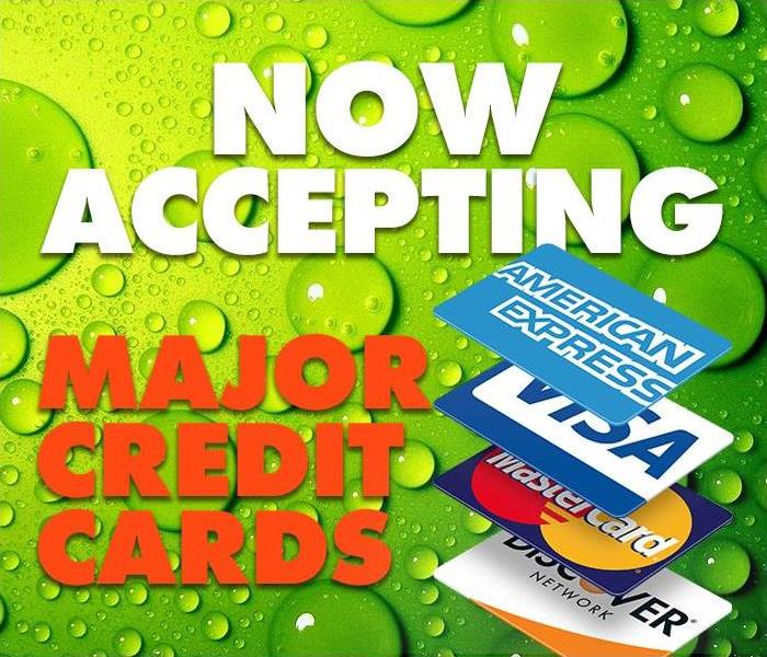 General Now Accepting Credit Cards