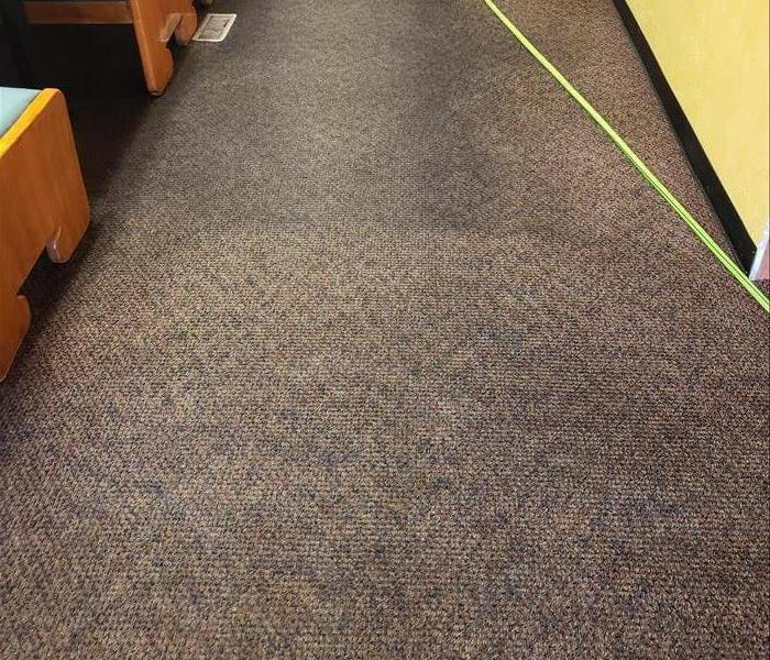 This northwest Iowa restaurant was in desperate need of carpets cleaned, here is a before and after photo.