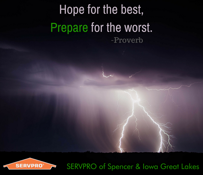 Water Damage Spencer and Iowa Great Lakes 24-Hour Emergency Water Damage Service